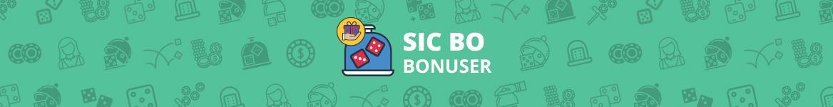 Sic Bo Bonuser