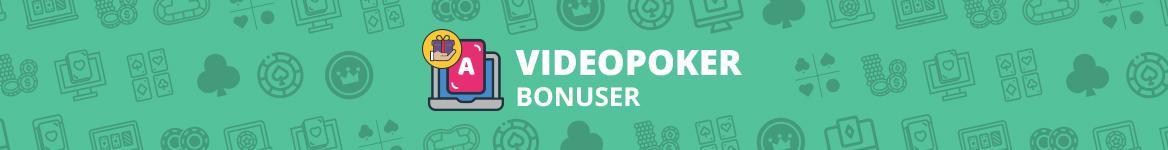 Videopoker Bonuser