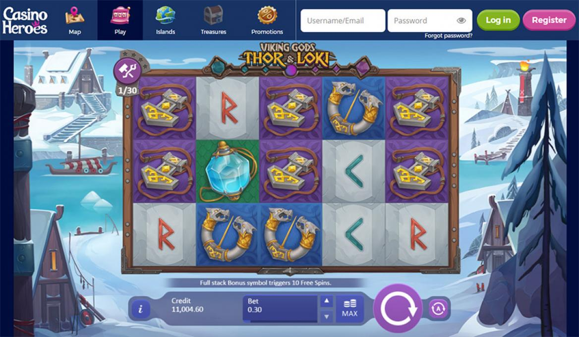 casinoheroes spilleautomater