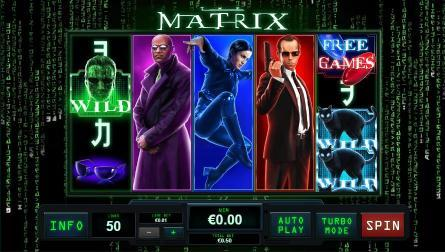 Matrix fra Playtech