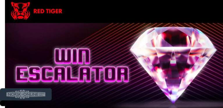 Win escalator red tiger